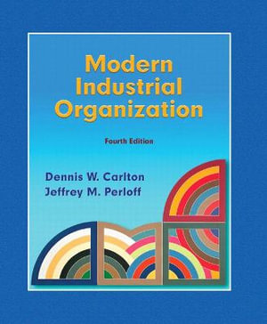 Cover of Modern Industrial Organization       Cp