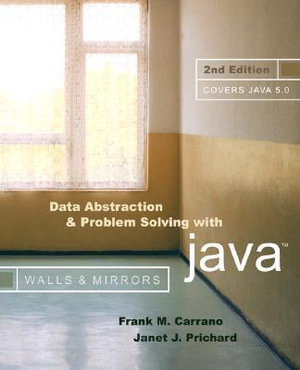 Cover of Data abstraction & problem solving with Java
