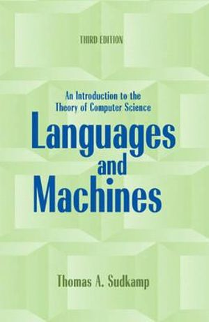 Cover of Languages and Machines