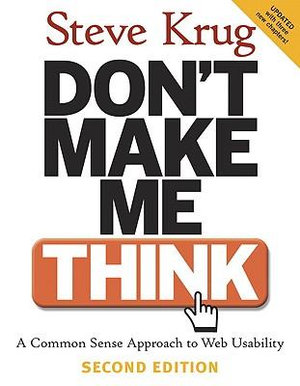 Cover of Don't Make Me Think!