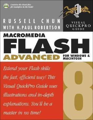Cover of Macromedia Flash 8 Advanced for Windows and Macintosh