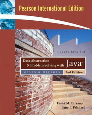 Cover of Data Abstraction and Problem Solving with Java