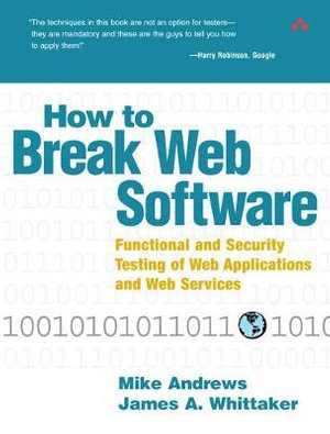 Cover of How to Break Web Software
