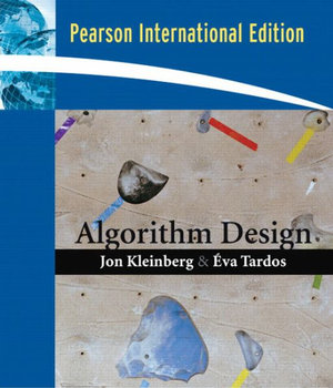 Cover of Algorithm Design