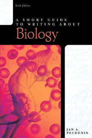 Cover of A Short Guide to Writing about Biology