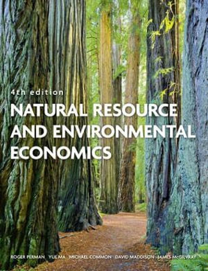 Cover of Natural Resource and Environmental Economics