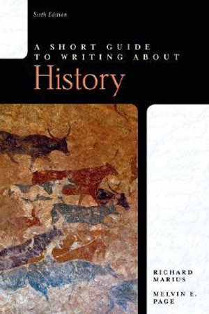 Cover of A short guide to writing about history