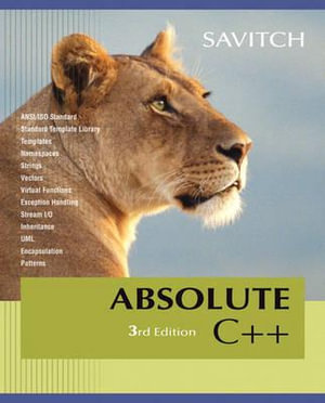 Cover of Absolute C++