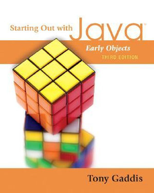 Cover of Starting Out with Java