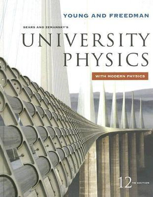 Cover of Sears and Zemansky's University Physics