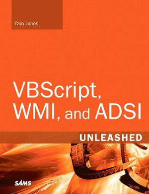 Cover of VBScript, WMI and ADSI Unleashed