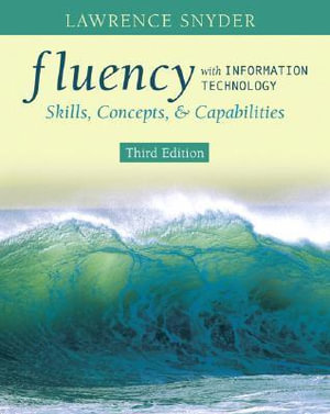 Cover of Fluency with Information Technology