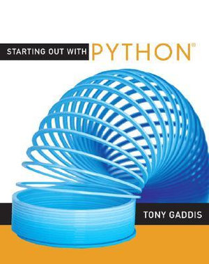 Cover of Starting Out with Python