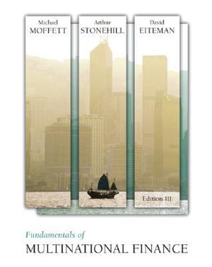 Cover of Fundamentals of Multinational Finance