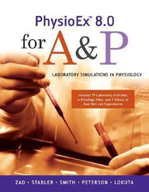 Cover of PhysioEx 8.0 for A&P