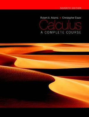 Cover of Calculus: A Complete Course