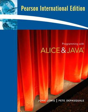 Cover of Programming with Alice & Java