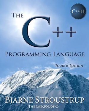 Cover of The C++ Programming Language, Fourth Edition