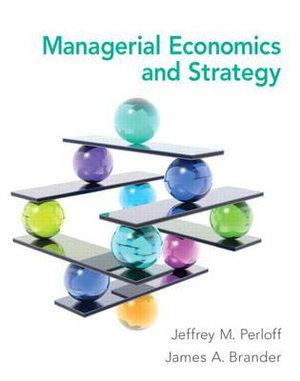 Cover of Managerial Economics and Strategy