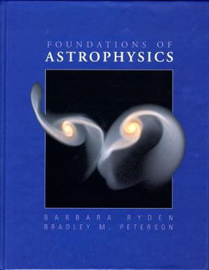 Cover of Foundations of Astrophysics   cp