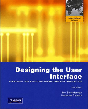 Cover of Designing the User Interface: Strategies for Effective Human-Computer   Interaction Pie