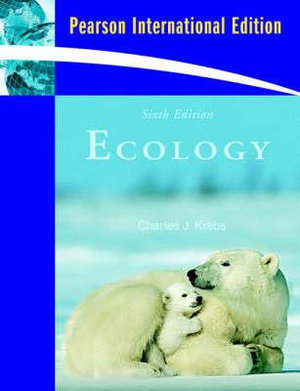 Cover of Ecology: The Experimental Analysis of Distribution and Abundance  Pie