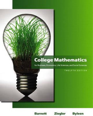 Cover of Coll Math Busn Econ Life   CP