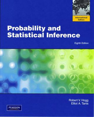 Cover of Probability Statistical Inference   PIE