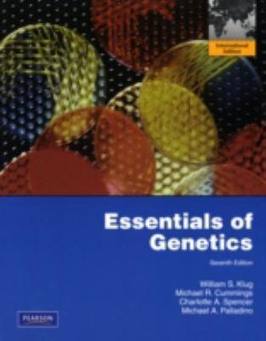 Cover of Essentials of Genetics