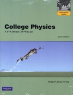 Cover of College Physics: A Strategic Approach with MasteringPhysics Pack        Pearson International Edition
