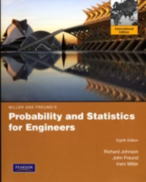 Cover of Probability and Statistics for Engineers Pie