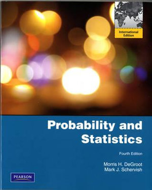 Cover of Probability and Statistics