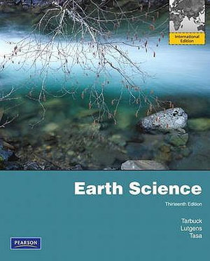 Cover of Earth Science Pearson International Edition