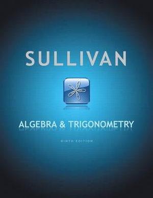 Cover of Algebra & Trigonometry