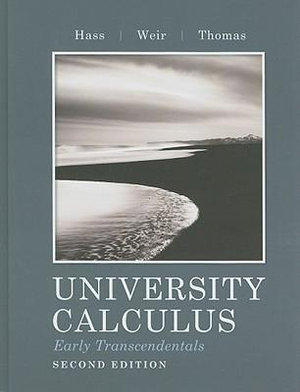 Cover of Univ Calculus Erly Trans