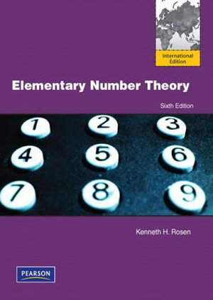 Cover of Elementary Number Theory and Its Applications