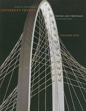 Cover of Sear's & Zemansky's University Physics, Volume One