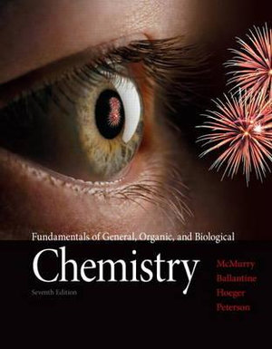 Cover of Fundamentals of General, Organic, and Biological Chemistry