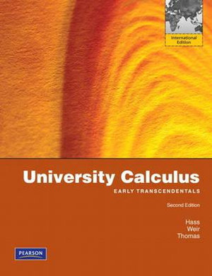 Cover of University Calculus, Early Transcendentals Pearson International        Edition