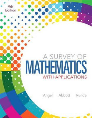 Cover of A Survey of Mathematics with Applications