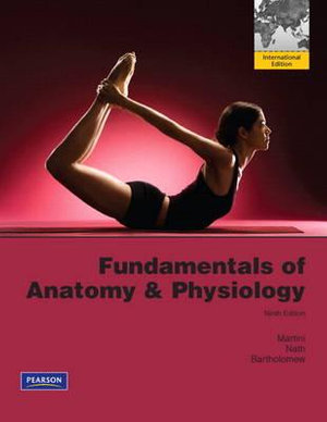 Cover of Fundamentals of Anatomy & Physiology with MasteringA&P Pearson          International Edition Package