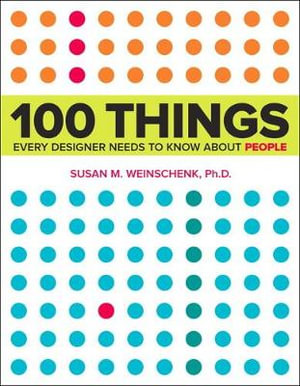 Cover of 100 Things Every Designer Needs to Know About People