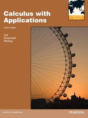 Cover of Calculus With Applications Pie