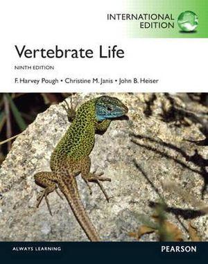 Cover of Vertebrate Life Pearson International Edition