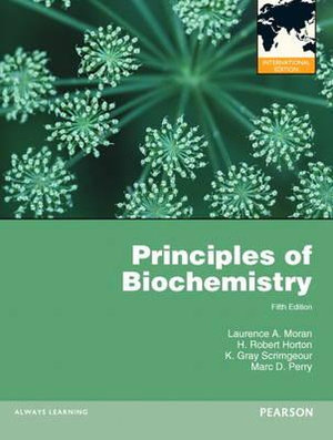 Cover of Principles of Biochemistry Pearson International Edition