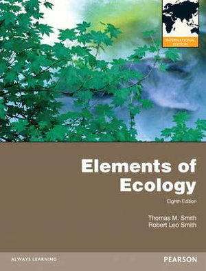 Cover of Elements of Ecology Pearson International Edition