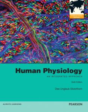 Cover of Human Physiology: An Integrated Approach with MasteringA&P Pearson      International Edition