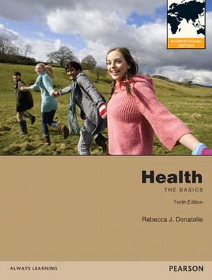 Cover of Health: The Basics Pearson International Edition