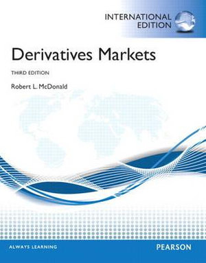 Cover of Derivatives Markets Pearson International Edition