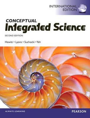 Cover of Conceptual Integrated Science Pearson International Edition